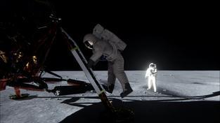 Nvidia vyvrací konspirační teorie o (ne)přistání Apollo 11 na Měsíci s pomocí nového grafického čipu