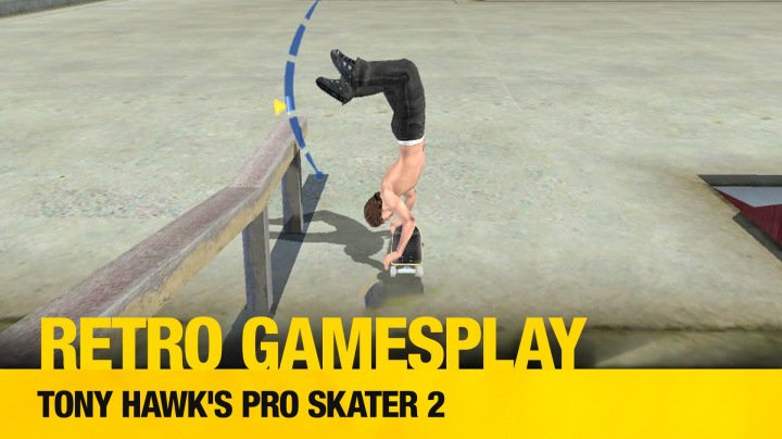 Retro GamesPlay: hrajeme skejťáckou drogu Tony Hawk's Pro Skater 2