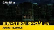 Adventurní speciál #5: výlet do sanatoria v lovecraftovské adventuře Asylum