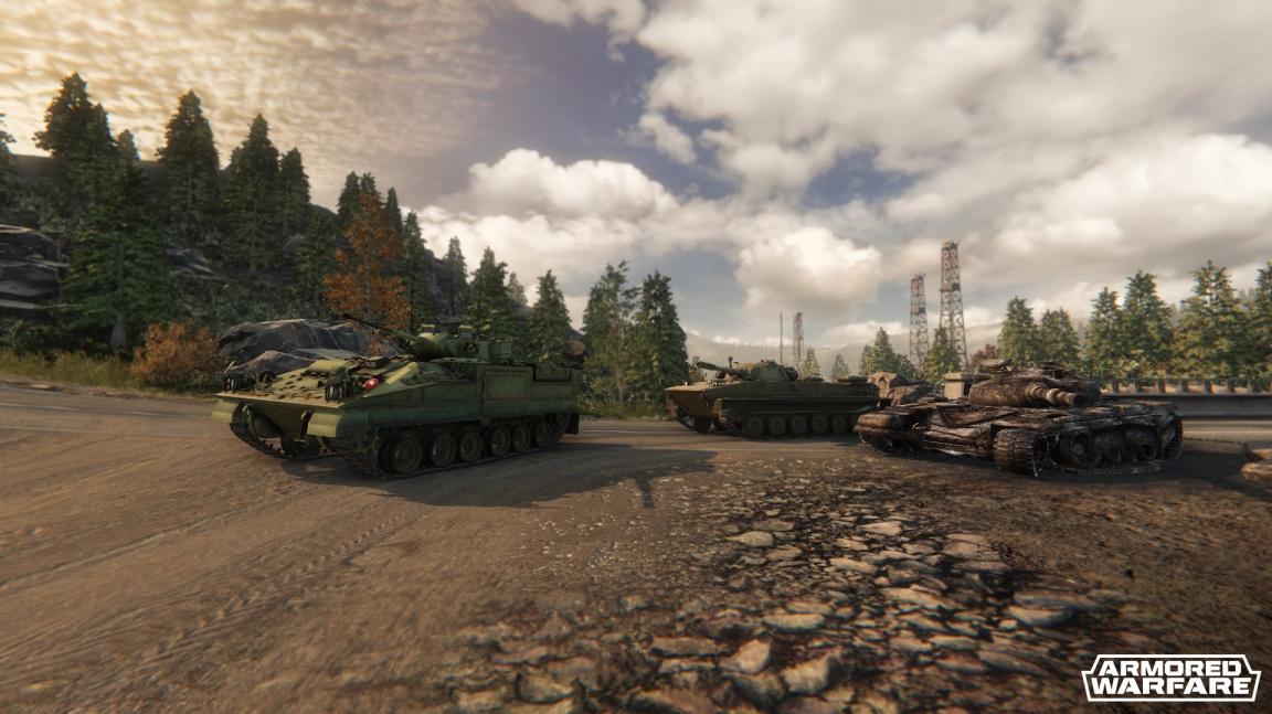 Tvůrci Armored Warfare vysvětlují specifika moderního tankového bojiště