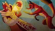Adventura TRI připomíná Portal s trojúhelníky a liškou