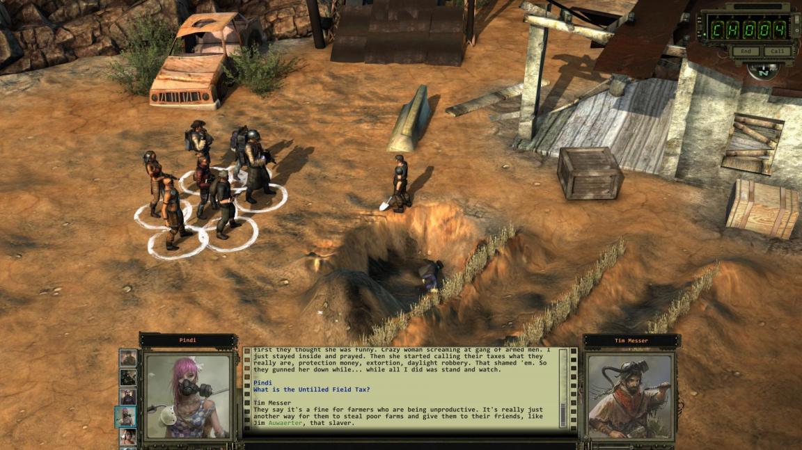 Velký update Wasteland 2 připomíná, že číst rady v nahrávacích obrazovkách se vyplácí