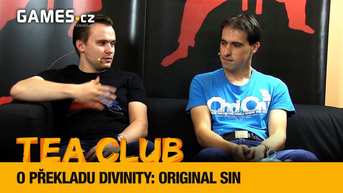 Tea Club #9: Povídání o překladu Divinity: Original Sin do češtiny