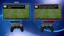 S novou funkcí Share Play můžete na dálku předat kamarádovi ovládání PlayStation 4 hry