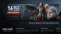 Majitele třetího Zaklínače čeká 16 bezplatných DLC