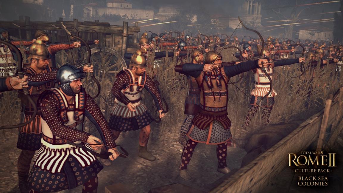 Nabídku frakcí v Total War: Rome II rozšíří národy z Francie a okolí Černého moře