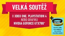Získejte zdarma jednu ze tří her nebo náramek Levelu a Games.cz!