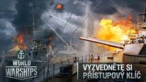 Vyzvedněte si přístupový klíč do víkendového testu World of Warships