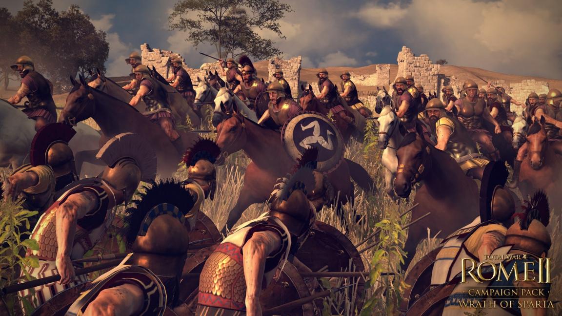 Sparta táhne do války ve videu z Total War: Rome II – Wrath of Sparta