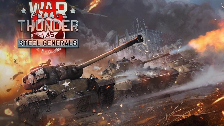 Velký update Steel Generals přináší do War Thunder nové stroje a spoustu oprav