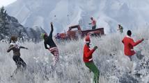 Hráče GTA Online čeká během svátků koulovačka, příšerné vánoční svetry, nová auta, zbraně i střílení rachejtlí