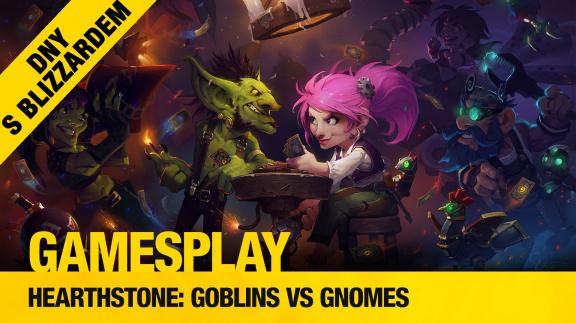 GamesPlay: Aleš hraje datadisk Hearthstone Goblins vs Gnomes
