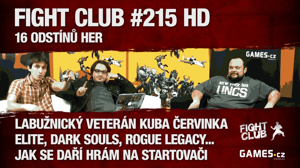 Fight Club #215 HD: 16 odstínů her