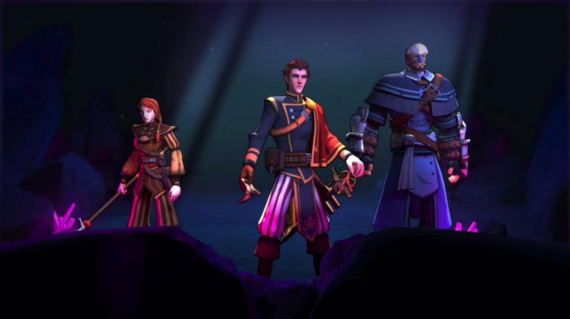 K dokončení půvabného RPG Masquerada jsou třeba peníze z Kickstarteru