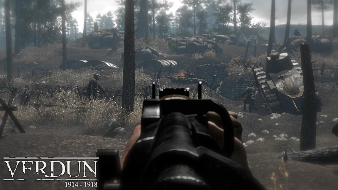 Připravte si plynové masky a bajonety, vyšla multiplayerová střílečka Verdun