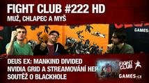 Fight Club #222 HD: Muž, chlapec a myš