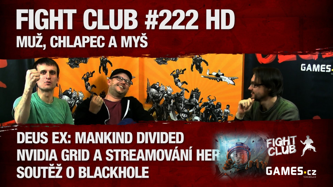 Fight Club #222 HD: Muž, chlapec a myš