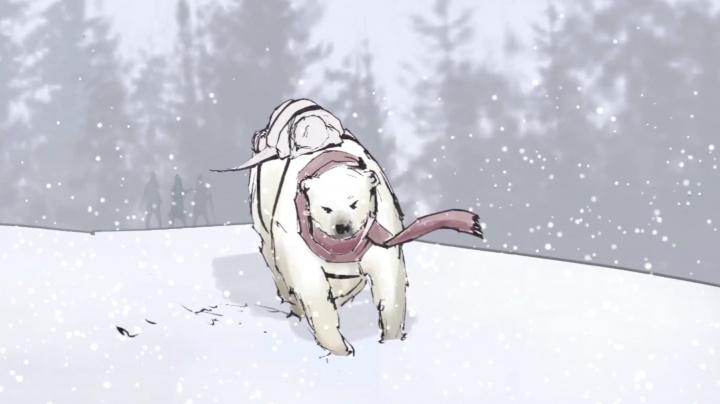 Cold Horizon vypráví o pouti lední medvědice a malého chlapce