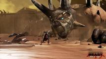 O přízeň hráče bude v Shadow of the Beast bojovat krása s brutalitou