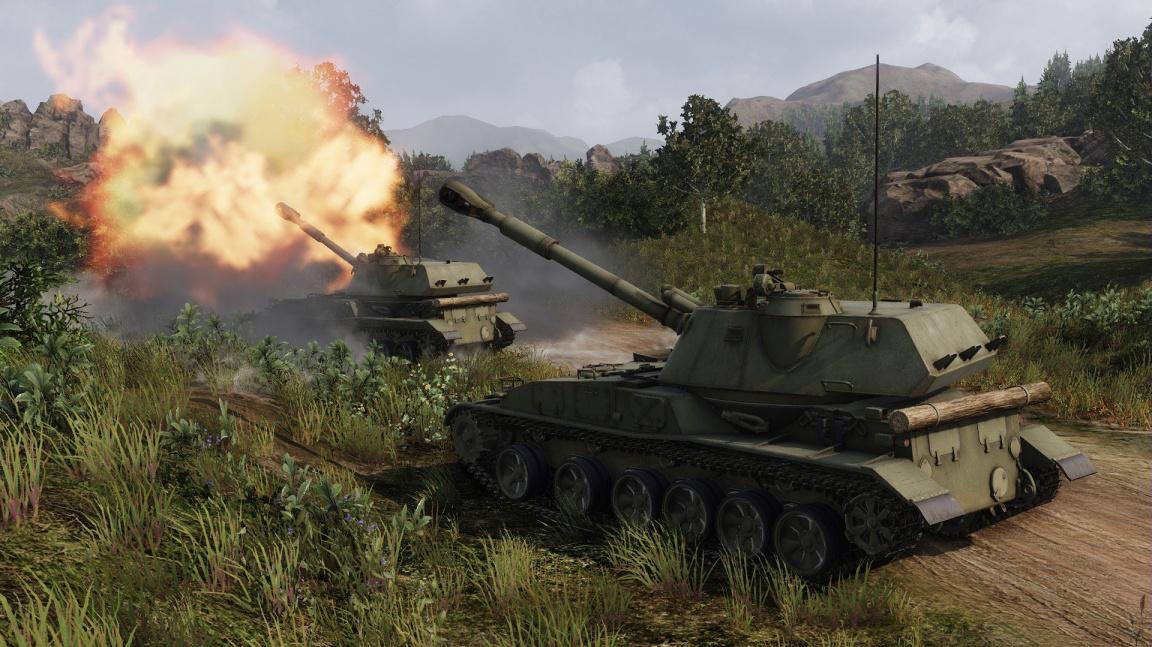 Tanková akce Armored Warfare představuje různé typy pancíře a mění roli dělostřelectva