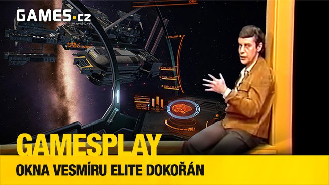 GamesPlay: Okna vesmíru Elite dokořán s astronomem Jiřím Grygarem