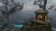 Modifikace Skywind představuje Seyda Neen, startovní přístav z Morrowindu