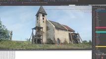 Tvůrci Kingdom Come: Deliverance předvádí tvorbu krajiny a kostela