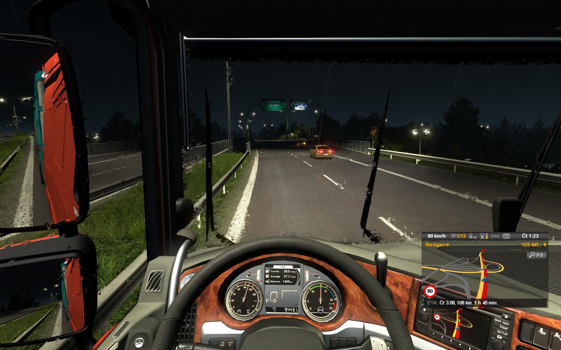 Euro Truck Simulator 2: Skandinávie