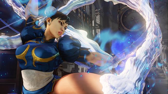 Chun Li a její rosolovitá prsa jsou glitch