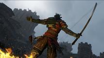Středověká rubačka For Honor představuje smrtícího samuraje s katanou