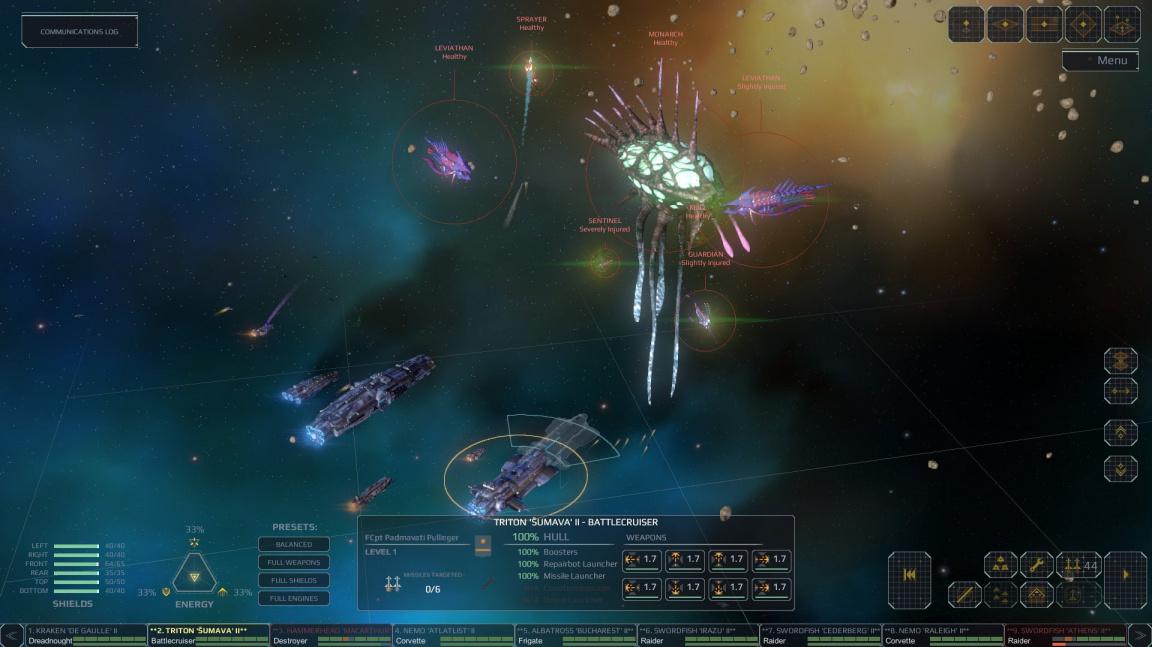 Taktický Star Hammer chce navázat na staré vesmírné klasiky
