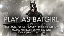 Batgirl v akci na záběrech z prvního DLC pro Batman: Arkham Knight