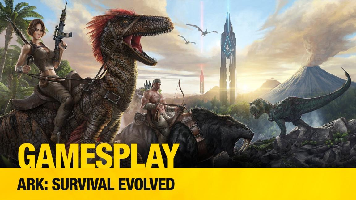 GamesPlay: hrajeme dinosauří survival onlineovku ARK: Survival Evolved