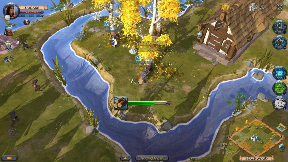 Albion Online chce tradiční MMORPG úkoly oživit dynamickou ekonomikou