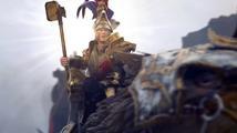 Karl Franz vraždí orky v bitvě z Total War: Warhammer