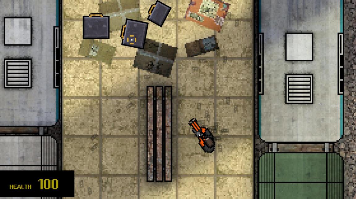 Hotline Miami mod ukazuje, jak se Half-Life 2 hraje z ptačí perspektivy