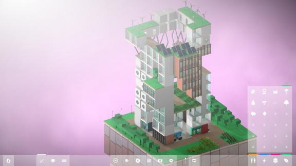 V Block'hood budujete město snů, na rozdíl od Sim City a Cities však jen do výšky