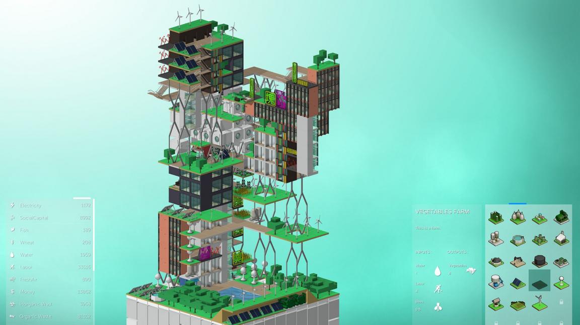 V budovatelské strategii Block'hood si můžete vyzkoušet i stavbu babylonské věže