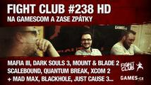 Fight Club #238 HD: Na GamesCom a zase zpátky