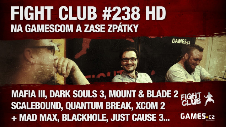 Fight Club #238 HD: Na GamesCom a zase zpátky