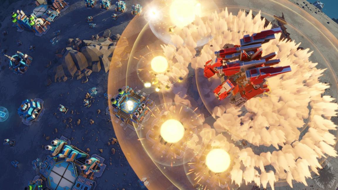 Planetary Annihilation: Titans je i není datadiskem, který vylepšuje původní hru