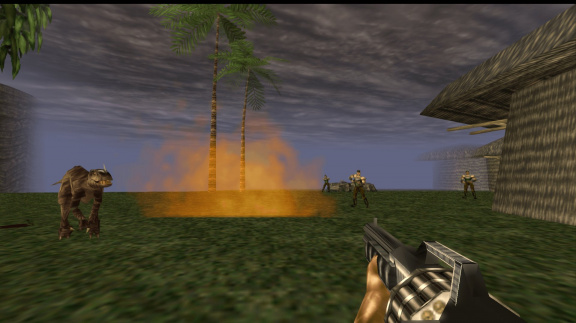 Turok: Dinosaur Hunter (remaster)