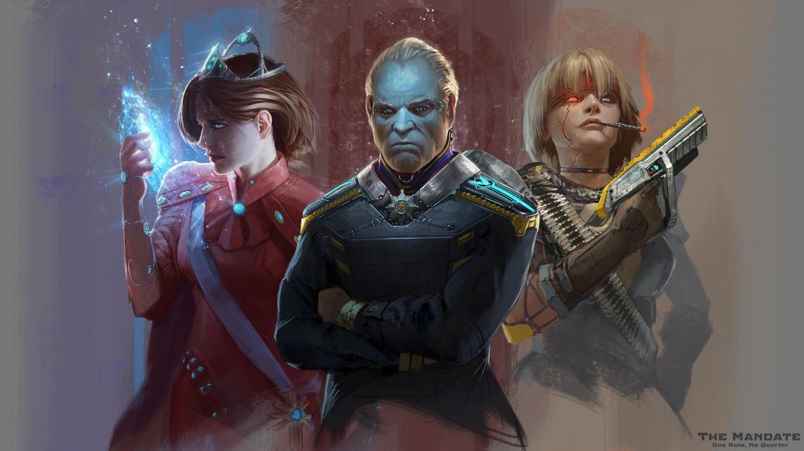 Megalomanské vesmírné RPG The Mandate vyjde začátkem příštího roku