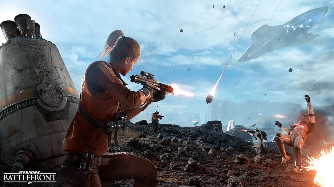Hráči bety Star Wars Battlefront zapříčinili řadu změn a úprav ve finální verzi