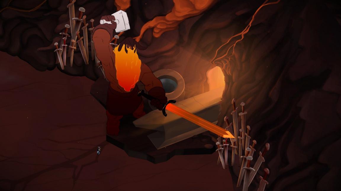 Vikinská bojovka Jotun představuje ohnivého obra