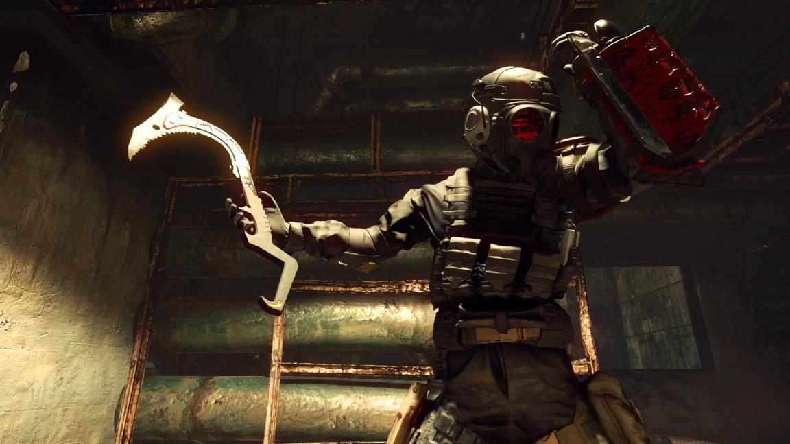 V multiplayerovce Umbrella Corps můžete měnit všechny součásti výzbroje