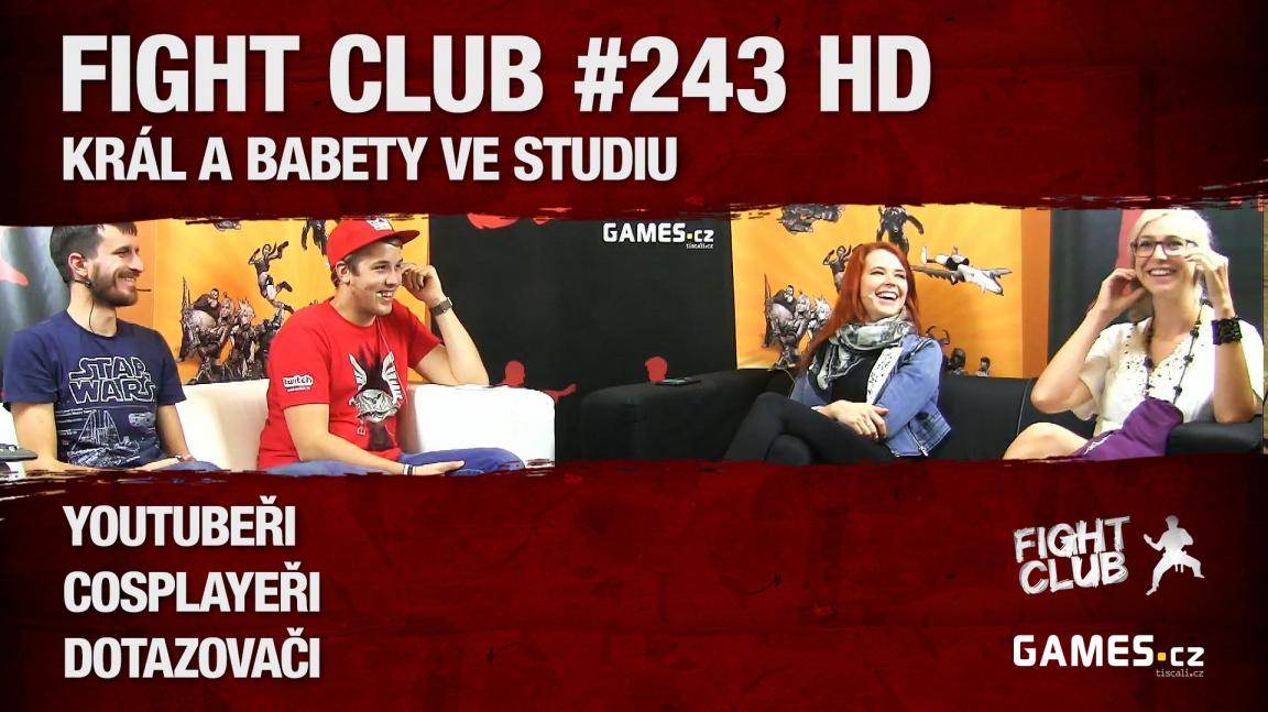Fight Club #243 HD: Král a babety ve studiu