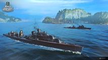 Nabídku lodí ve World of Warships rozšíří sovětská i německá námořní elita