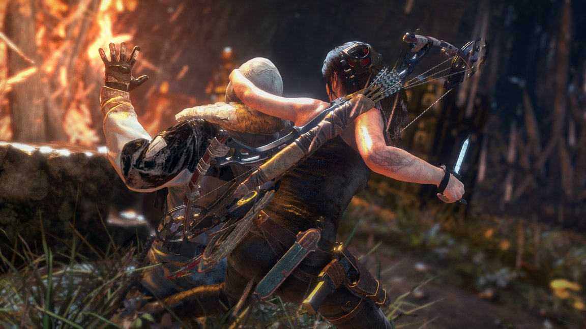 Nové video odhaluje bojovou stránku Lary v Rise of the Tomb Raider