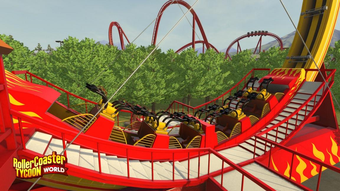 Nový RollerCoaster Tycoon se řítí do cílové rovinky s už třetím studiem